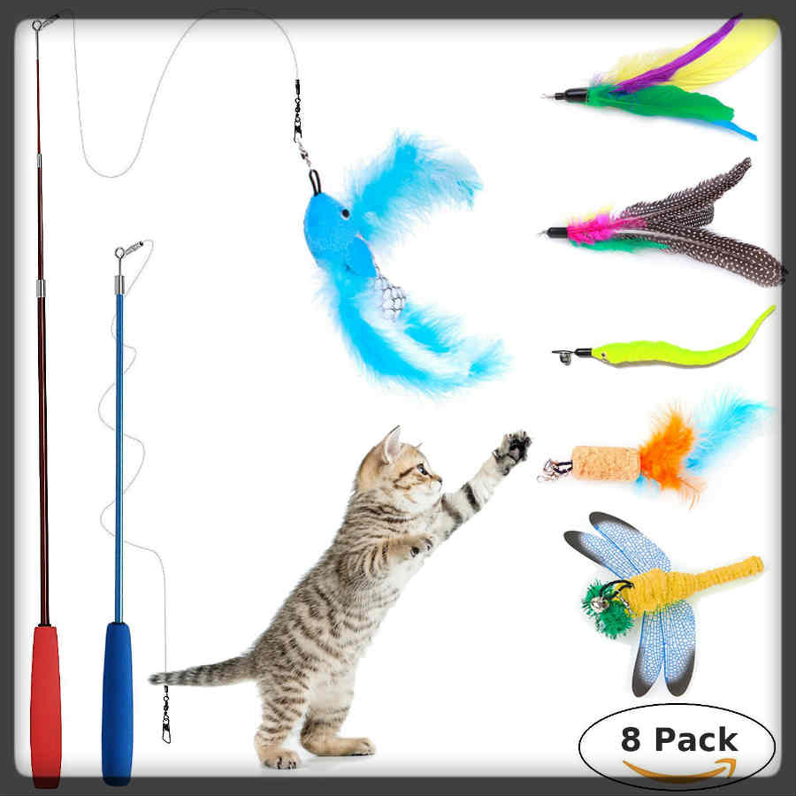 juguete para interactuar con tu gato
