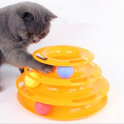 juguetes seguros para gatos